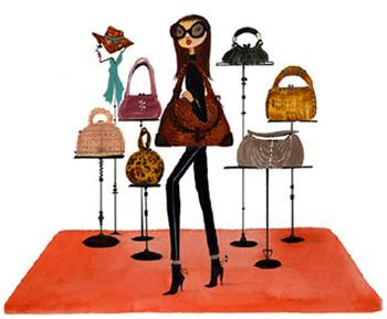 Handbag-woman